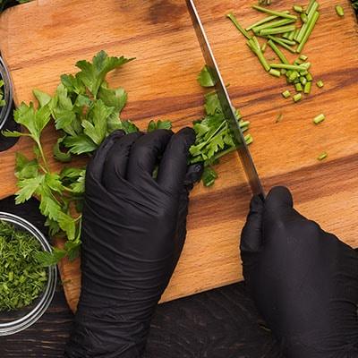 handschoenen voedsel veilig nitril vinyl latex