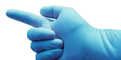 ultra sensitive nitril handschoenen veilig en goed voelbaar abena