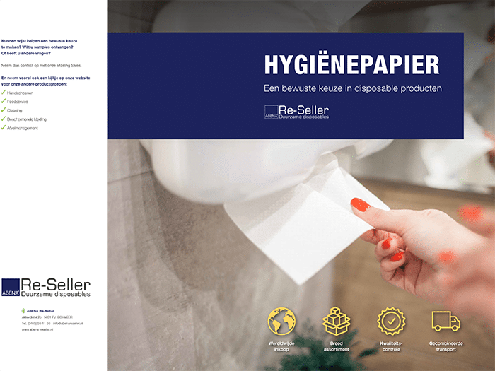 Overzicht Hygienepapier brochure